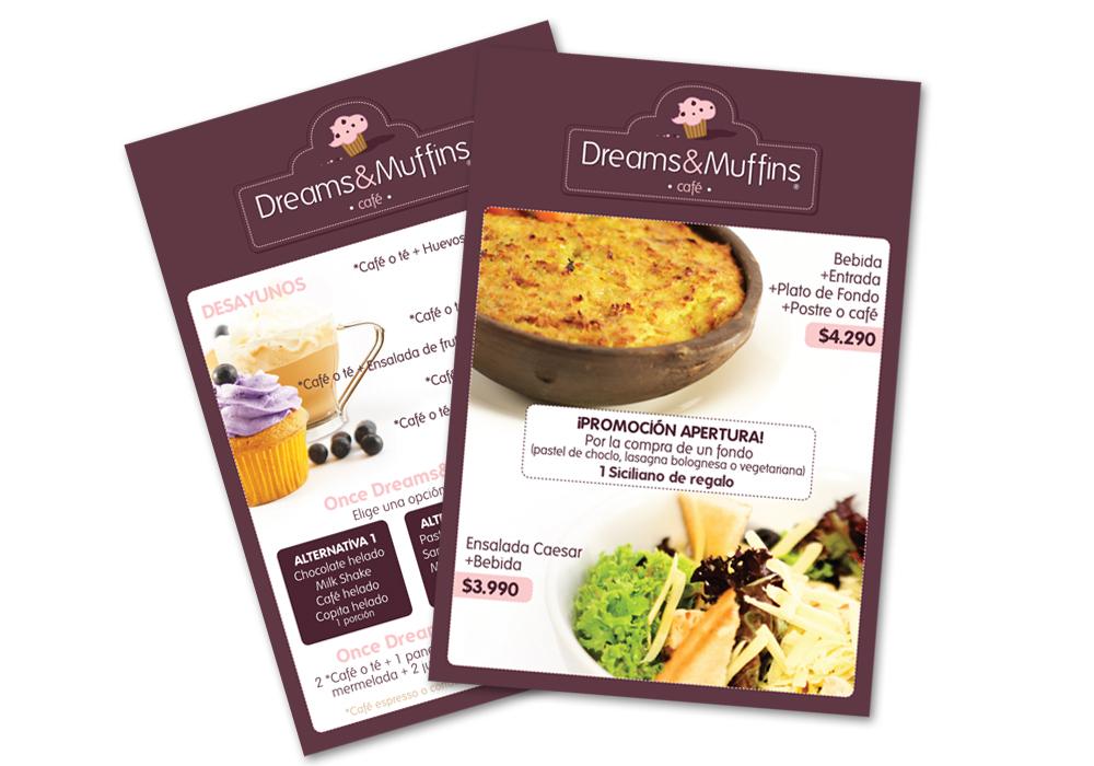 Promociones Dreams&Muffins