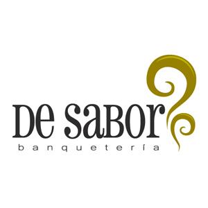 Logo para banquetera De Sabor