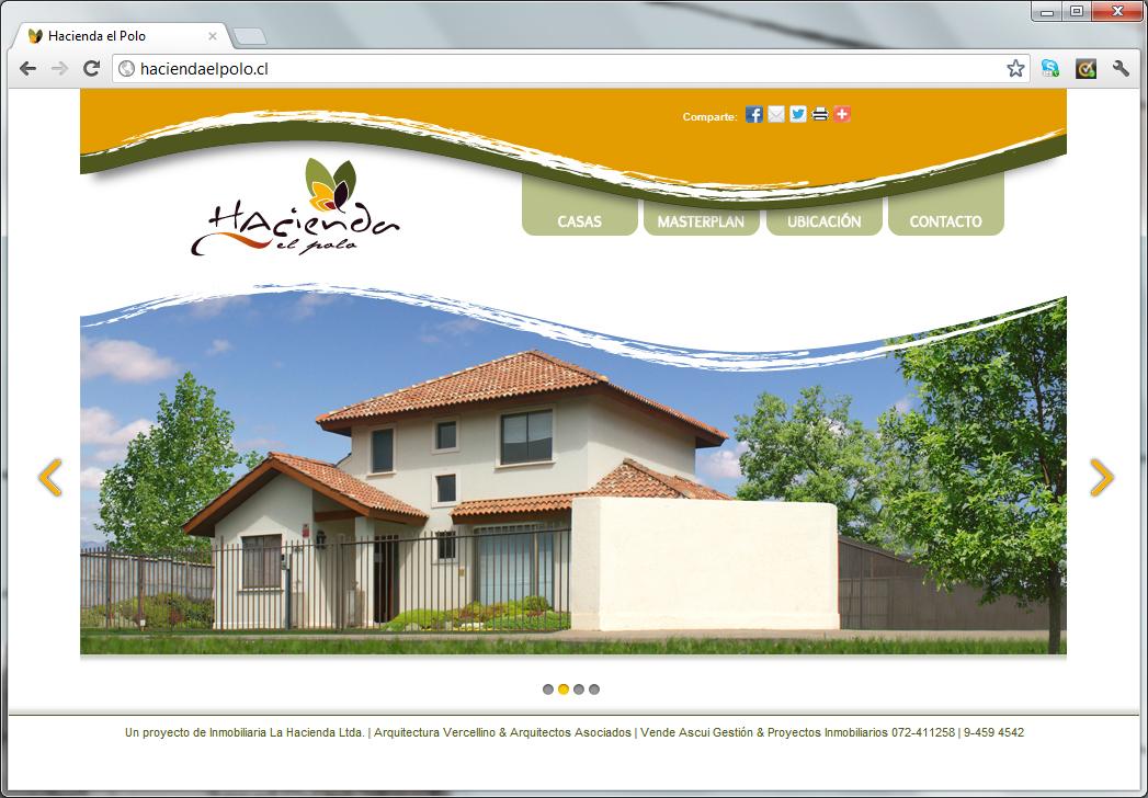 Sitio web Hacienda el Polo (para agencia MAW)