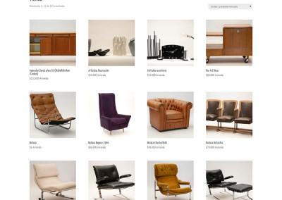 Sitio web 3088, venta y arriendo de artículos vintage