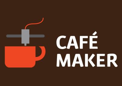Logo cafetería/impresión 3D Café Maker