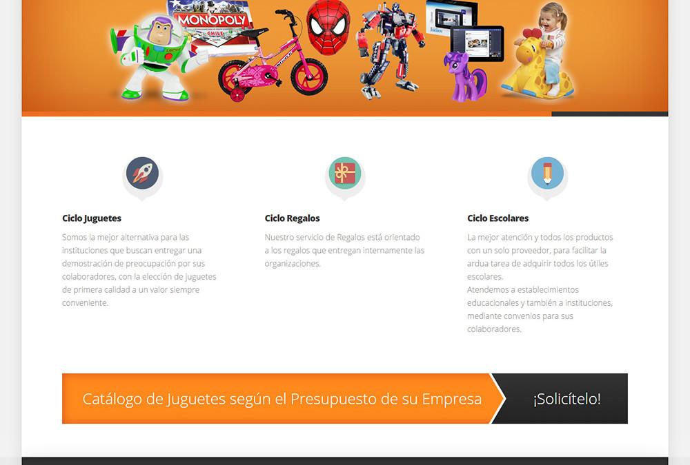 Sitio web Ciclo Juguetes