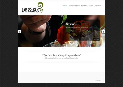 Sitio web Banquetera De Sabor