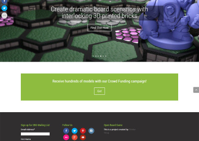 Sitio web Open Board Game