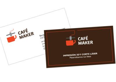 Tarjetas Café Maker