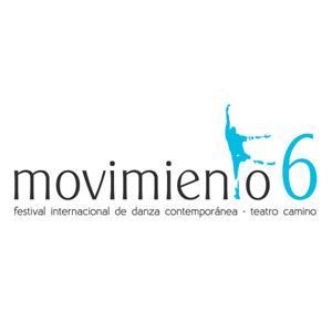 Logo festival de danza contemporánea Movimiento 6